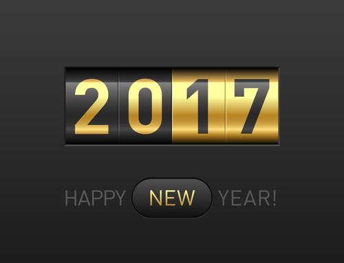 January 2017! Happy New Year!