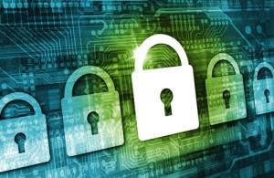Online Data Security Concept