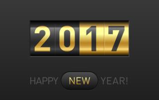 January 2017! Happy New Year! by Jennifer Safian